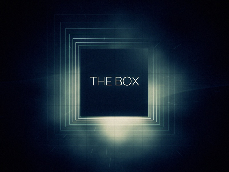 The Box C afx after effects c4d animation motion graphics motion design 3d