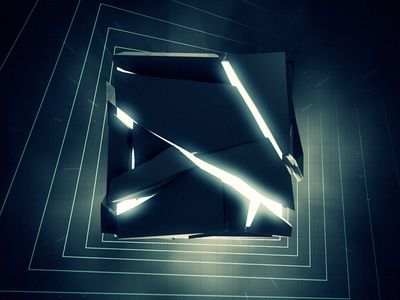 The Box B afx after effects c4d animation motion graphics motion design 3d