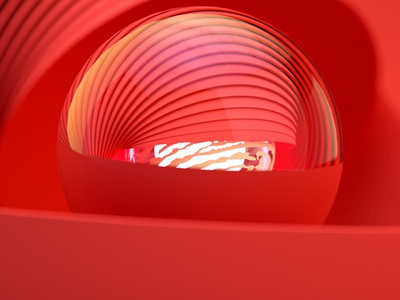 Primary 3 Red afx after effects c4d animation motion graphics motion design 3d