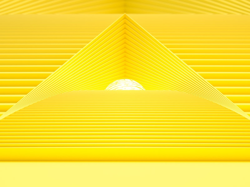 Primary 2 Yellow afx after effects c4d animation motion graphics motion design 3d