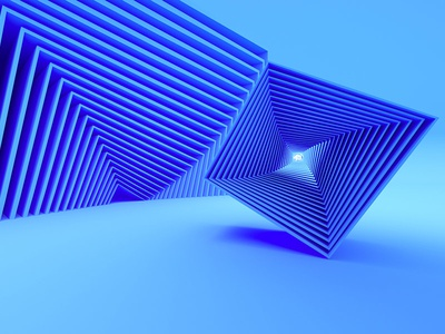 Primary 1 Blue afx after effects c4d animation motion graphics motion design 3d