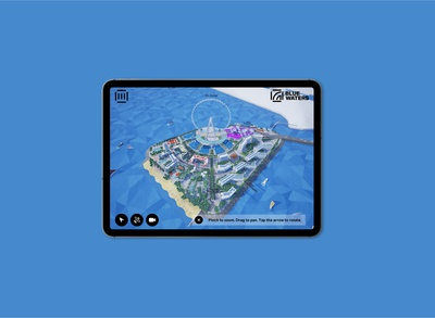 Bluewaters Dubai - Interactive Application