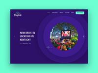 Funflicks home page design