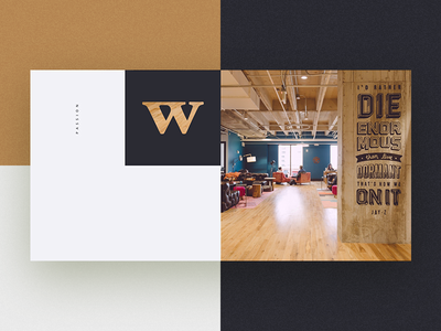Wework Creative landing page