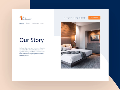 About page redesign and animations orange website blue animation interface creative clean mockup web design ux ui digital web design