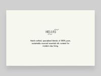 Helias Oils - intro and slider v2