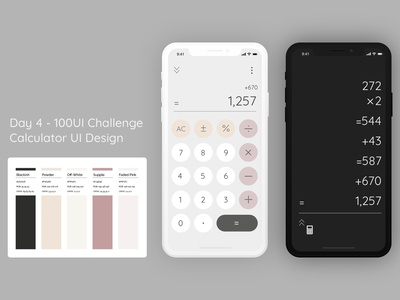 Day4-Calculator Design