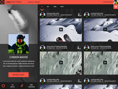 Linespotters Profile Page