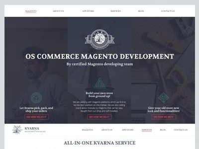Kvarna mill website software it coding onepage