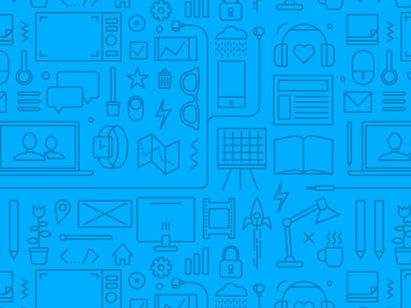 Pattern desk designer icons ux pattern freebie