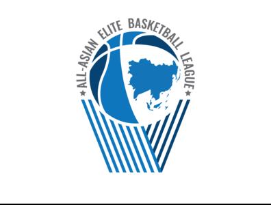All-Asian Elite Basketball League Logo Design
