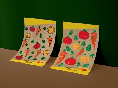 Maggie Foods Packaging Illustration Submission basil parsley onion carrot tomato maggie food art icon digital art poster logo illustration vector branding design graphic design