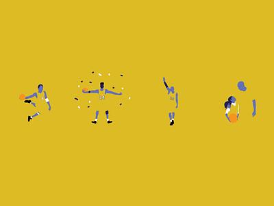 Mamba Moments basketball sports art poster design digital art minimalist illustration vector design graphic design gigi kobe bryant kobe