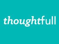 ThoughtFull wordmark concept