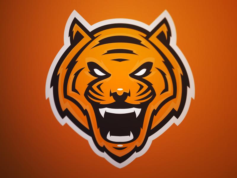 tiger head logo - 800×600