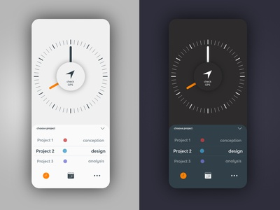 clock - time tracking app