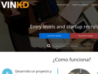 Vinkd: The first social network for recruit talent