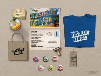 Absolut Vodka Event Marketing Kit