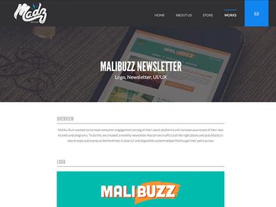 Madz Design Website