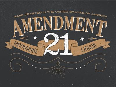 Amendment 21 Moonshine