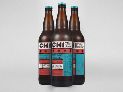 Chi City Brew Packaging Design