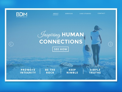 BDM Landing Page
