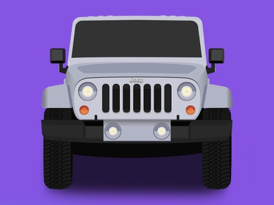 Jeep Wrangler auto suv texture illustration truck car jeep