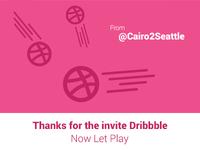 Thanks 4 invite Dribbble
