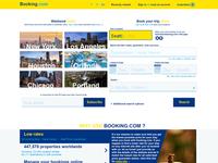 """Redesign Concept """"Booking.com"""""""