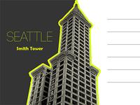 Smith Tower postcard ... ish