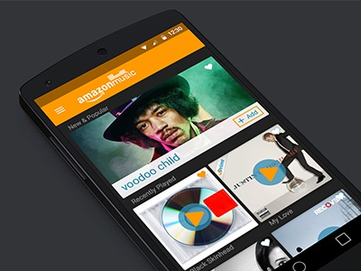 Amazon Music Redesign Concept