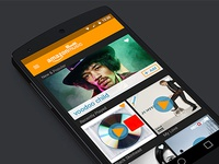 Amazon Music Redesign Concept