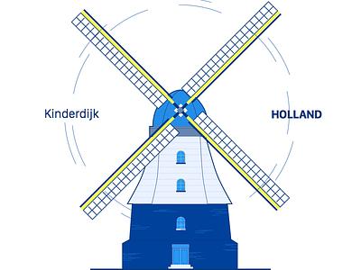 Dutch Windmill sketchapp