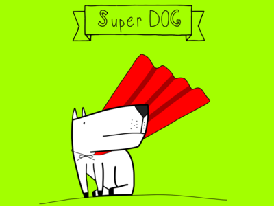 Spike The SUPER DOG