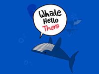 Whale humor
