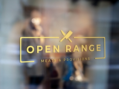 Open Range Logo Design
