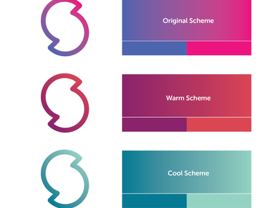 Slync Logo Concepts color schemes concepts startup design typography branding and identity logo branding
