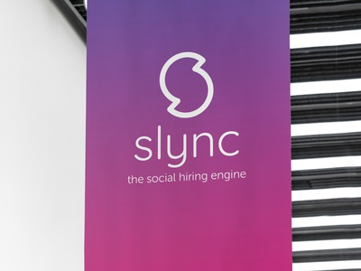 Slync Logo Final logo design styleframe color palette typography logo branding and identity branding
