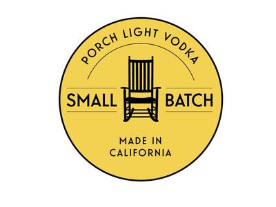 Porch Light Vodka Badging label packaging liquor spirits illustration logo design typography design logo branding and identity badges badge design branding