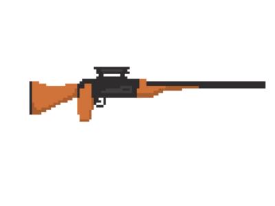 pixel western sniper