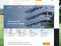 Saray Residence Housing Website
