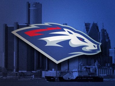 Mustangs detroit motorcity mustangs football sports logo ufl