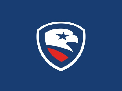 Labor Day usa shield eagle design sports branding logo sports