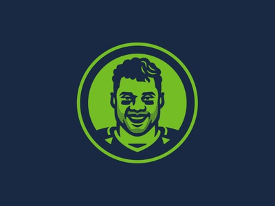 Russell Wilson russell wilson nfl design illustration sports branding football sports