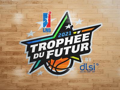 Trophée du Futur star championship basketball sports branding logo sports