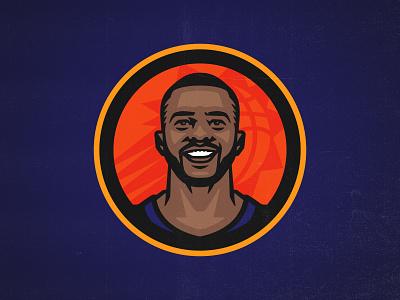 CP3 nbafinals suns phoenix superstar nba basketball chrispaul illustration sports branding logo sports