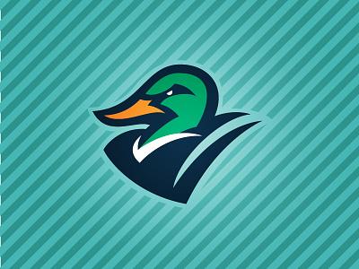 Ducks baseball illustration logo sports bird duck