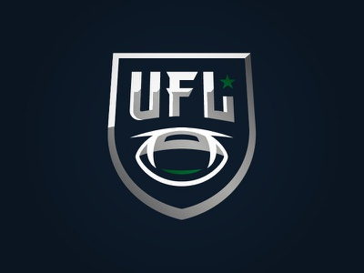 UFL 2.0 fantasy league sports badge logo football