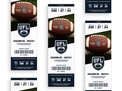 UFL 2.0 Ticket