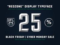 """Redzone"" 25% off"